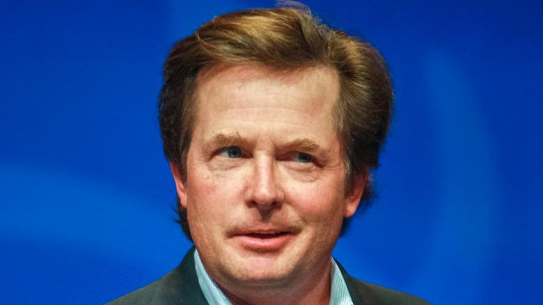 Michael J. Fox smiling