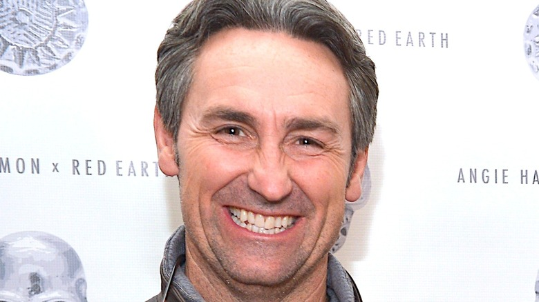 Mike Wolfe smiling grey hair