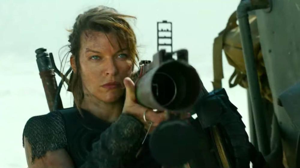 Monster Hunter Milla Jovovich cannon