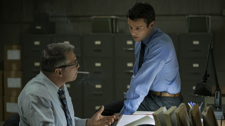 Scene from Mindhunter