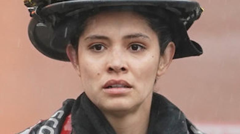 Miranda Rae Mayo as Stella Kidd on Chicago Fire