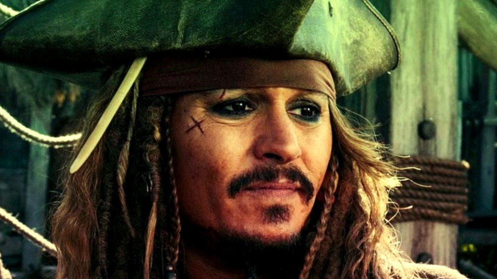 Jack Sparrow disgusted