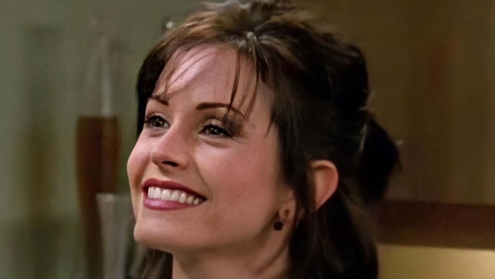 Monica for did go honeymoon chandler their and where The One