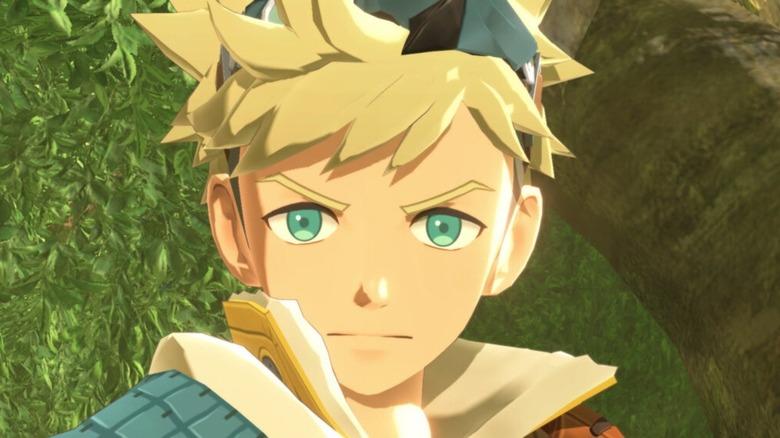 Monster Hunter Stories 2 character glares