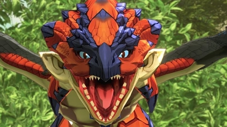 Dragon roars