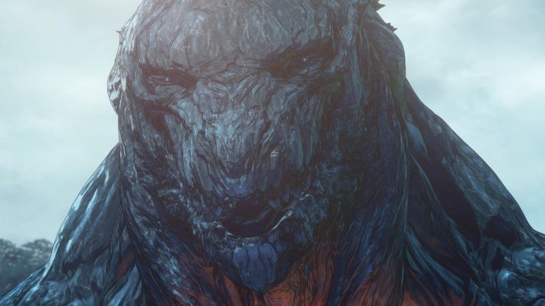 Godzilla Earth glares