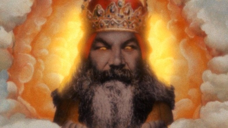 God in Monty Python and the Holy Grail