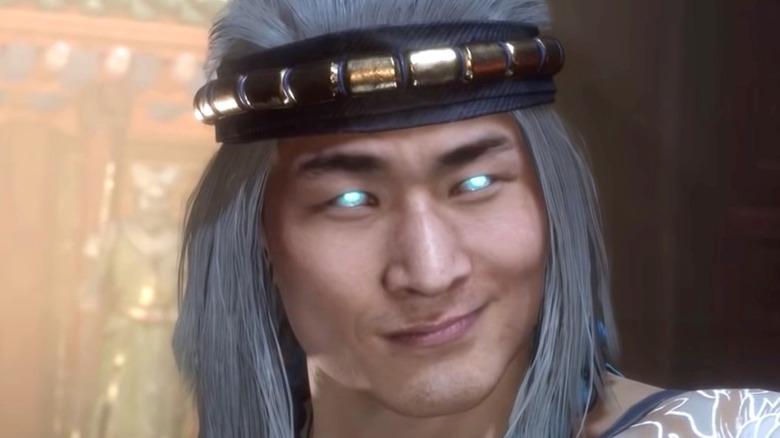 Liu Kang's knowing smile