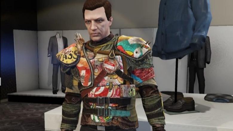 Branded Raider Top skin GTA