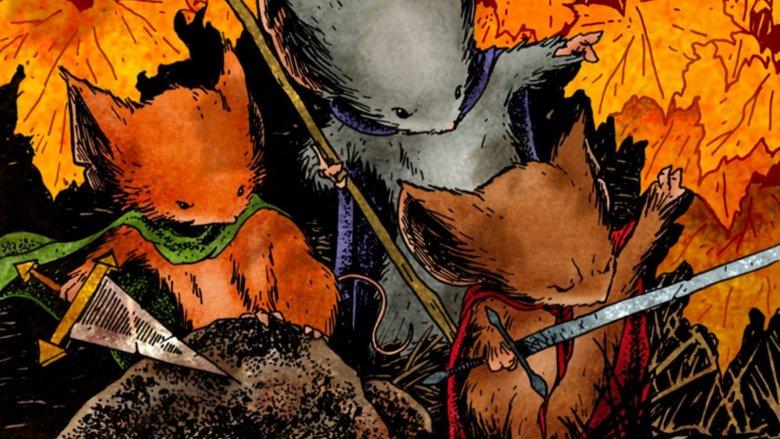 Mouse Guard comic image