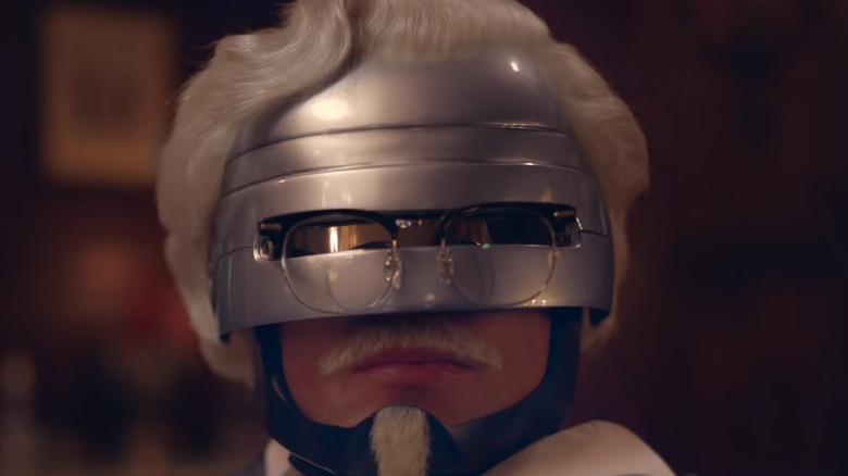 Robocop as KFC's Colonel Sanders