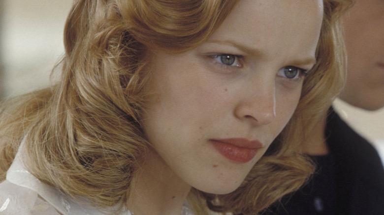 Rachel McAdams looking concerned