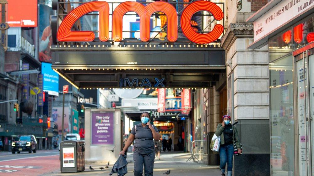 Closed AMC Theatre in New York City