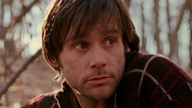 Jim Carrey in forest