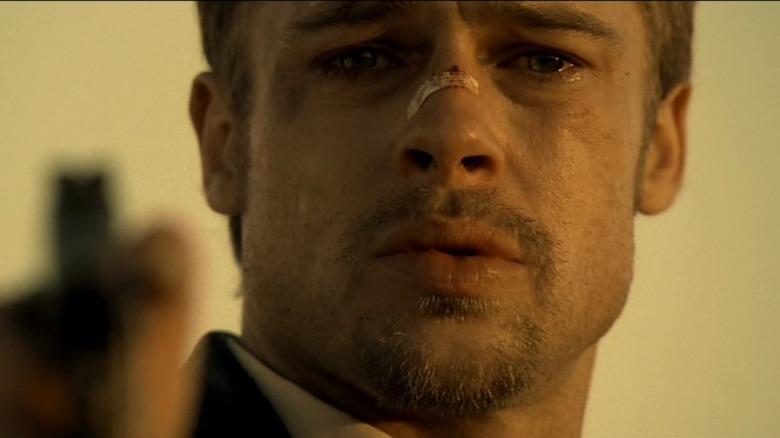 David Mills crying