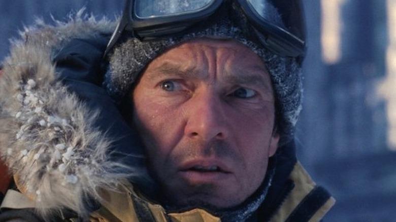 Dennis Quaid in snow gear