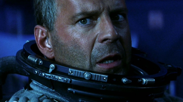Bruce Willis agog