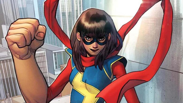 Kamala Khan a.k.a. Ms. Marvel in Ms. Marvel