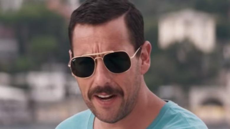 Adam Sandler wearing sunglasses
