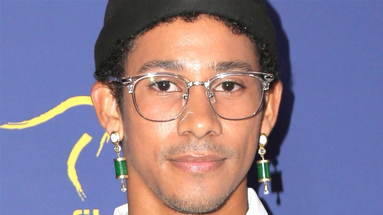 Keiynan Lonsdale attends event