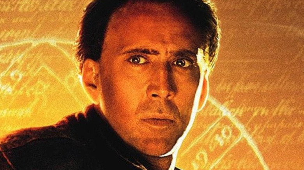 Nicolas Cage in National Treasure: Book of Secrets promo art