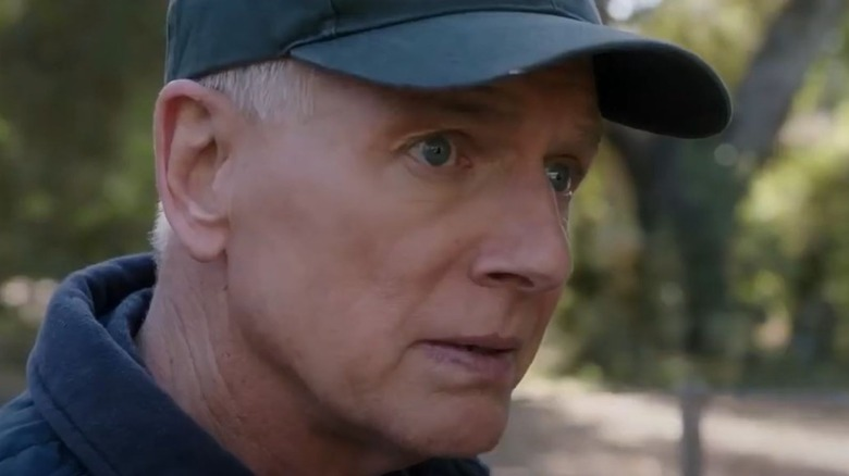Mark Harmon sad eyes