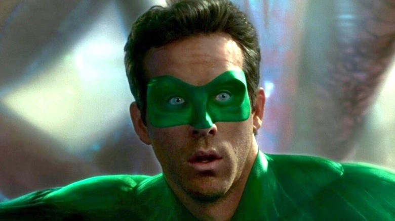 Ryan Reynolds playing Green Lantern