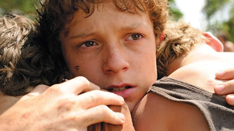 Tom Holland as Lucas in The Impossible
