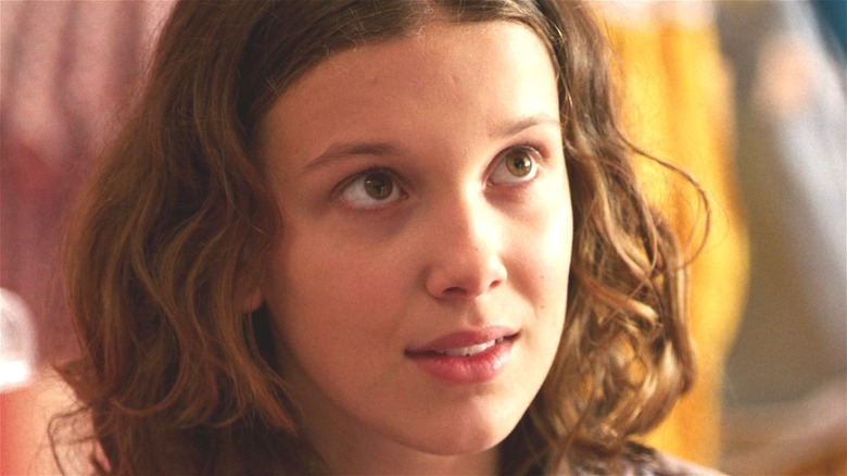 Eleven looking up