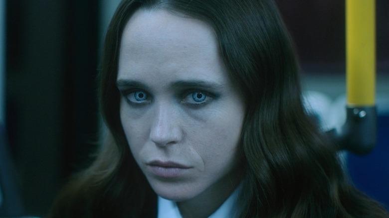 Elliot Page as Vanya in close-up