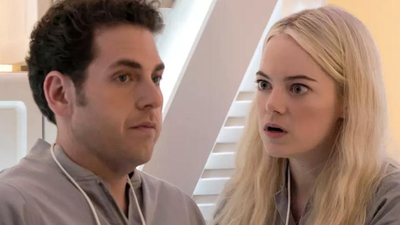 Jonah Hill and Emma Stone Maniac Netflix