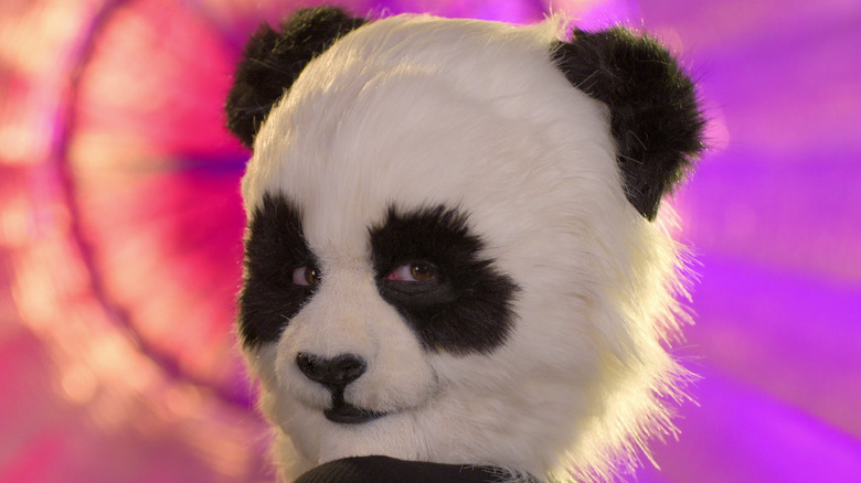 A woman dressed as a panda in Sexy Beasts