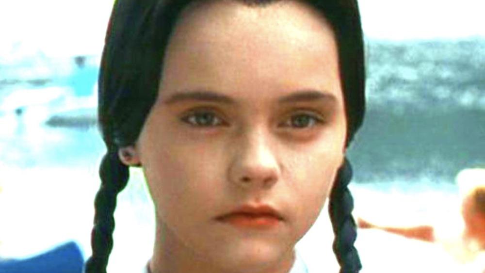 Christina Ricci as Wednesday Addams in the 1991 movie