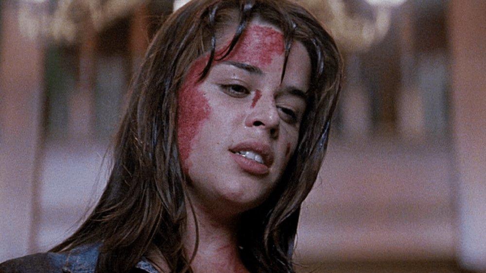 Neve Campbell as Sidney Prescott in Scream