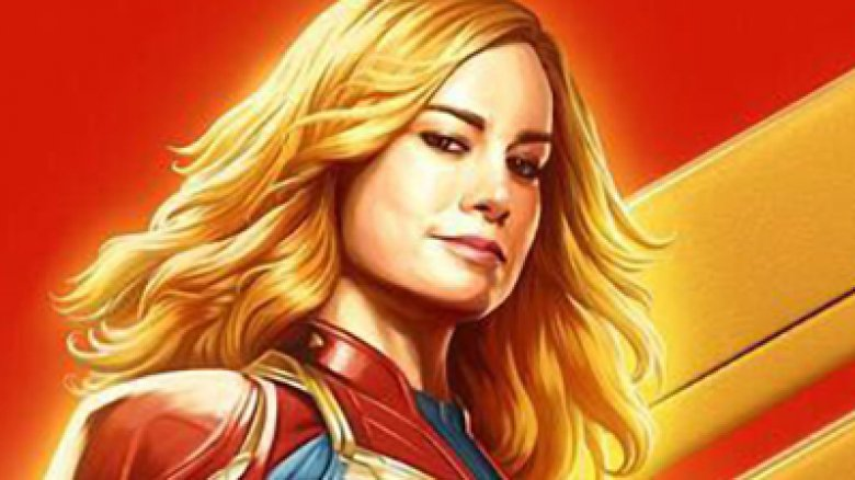 Brazil Comic Con Captain Marvel poster Brie Larson