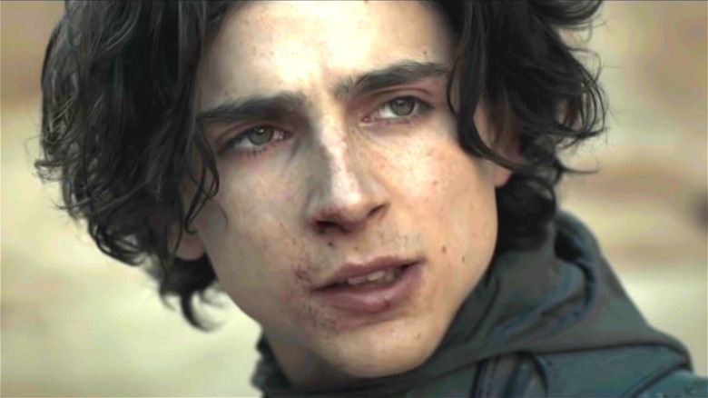 Dune Chalamet Paul Atreides Face