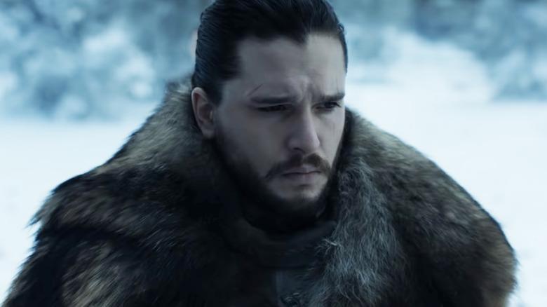 Kit Harington as Jon Snow on Game of Thrones