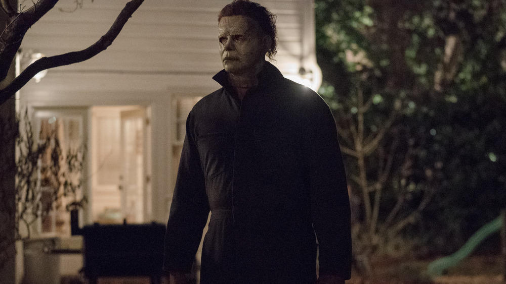 Michael Myers looming