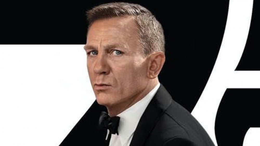 Daniel Craig as James Bond in new No Time to Die poster