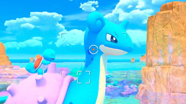 Lapras from New Pokemon Snap