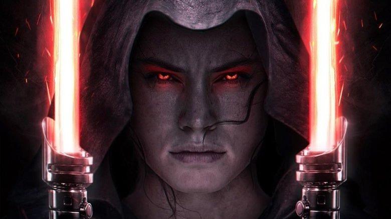 Dark Rey double lightsaber