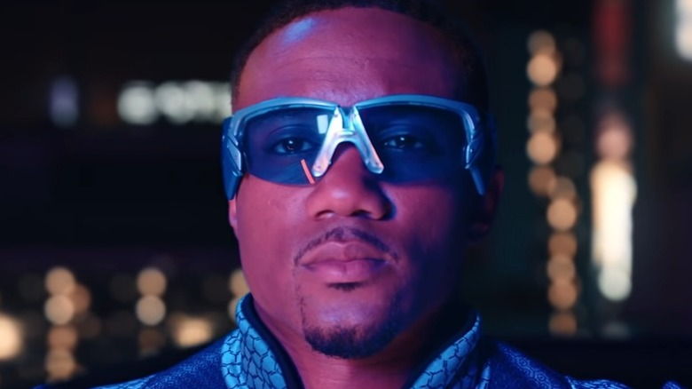 A-Train in his 'Faster' music video