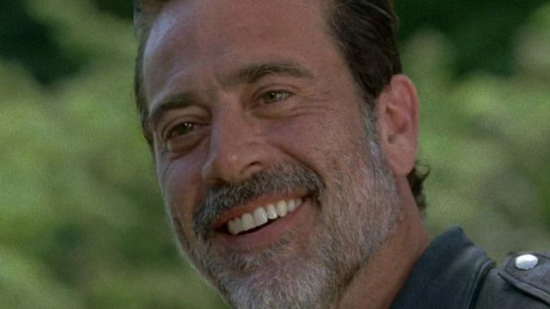 The Walking Dead Neegan smiling