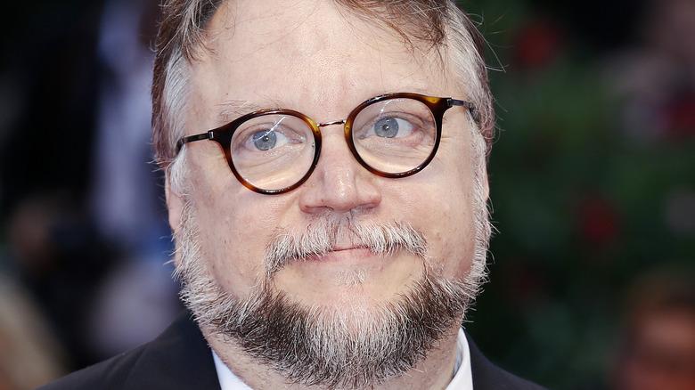 Guillermo del Toro posing