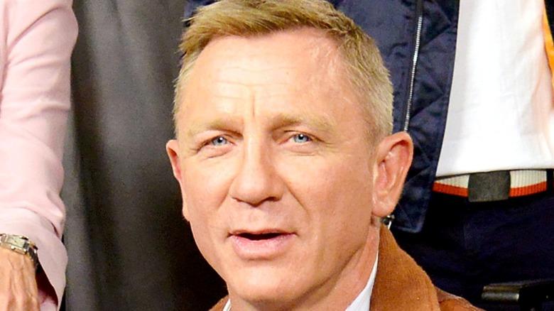 Daniel Craig smiling at camera