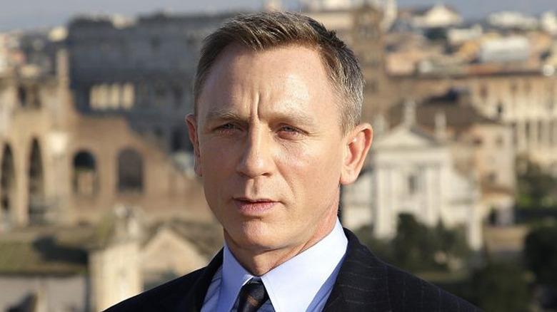 Bond in closeup in Spectre