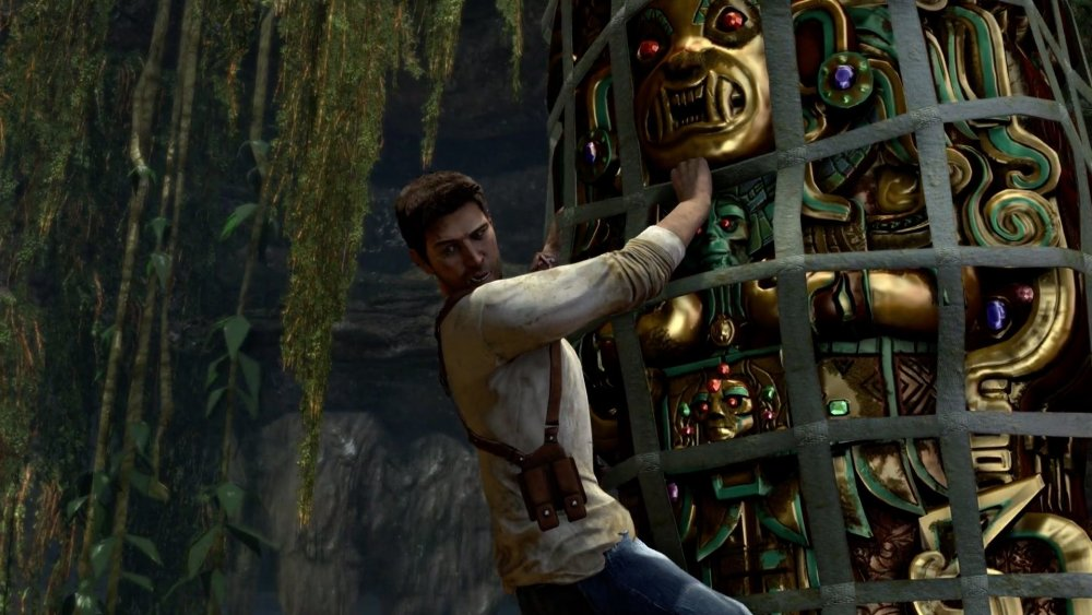 Nathan Drake as seen in the Uncharted games