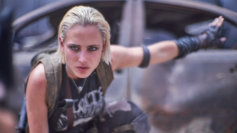 Nora Arnezeder in 'Army of the Dead'