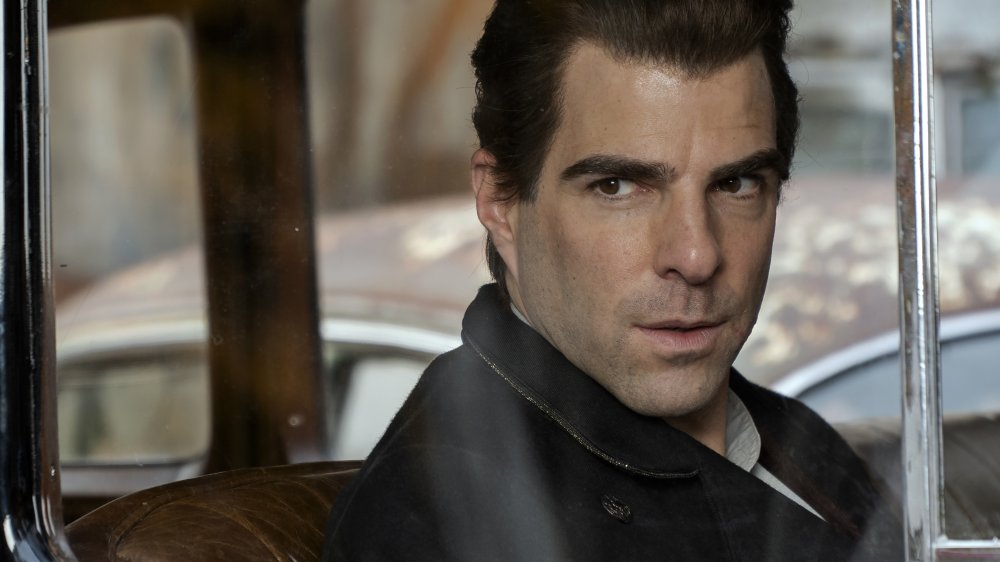 Zachary Quinto as Charlie Manx on NOS4A2