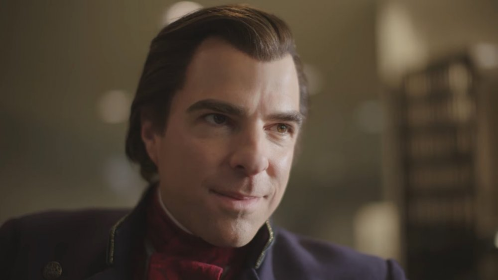 Zachary Quinto as Charles Manx on NOS4A2